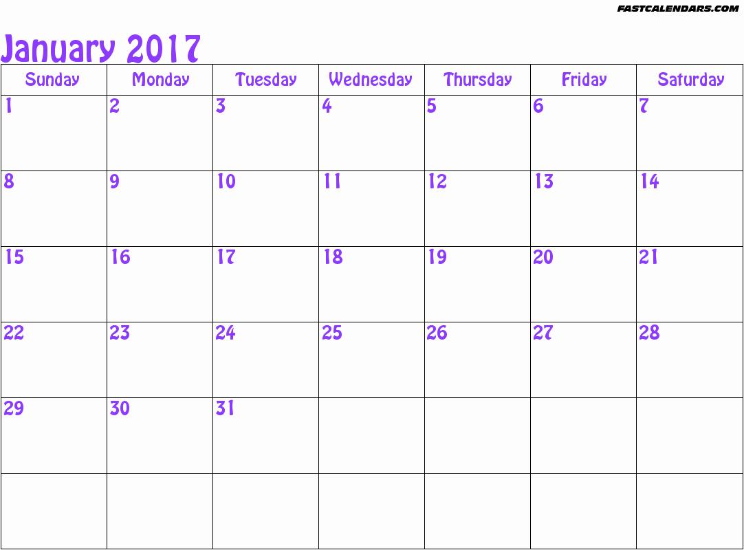 30 Day Calendar Template Fresh 30 Day Calendar Template