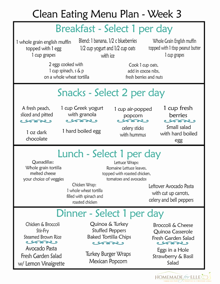 30 Day Diet Meal Plan Beautiful 12 Trending Clean Eating Diet Plans to Lose Weight Fast