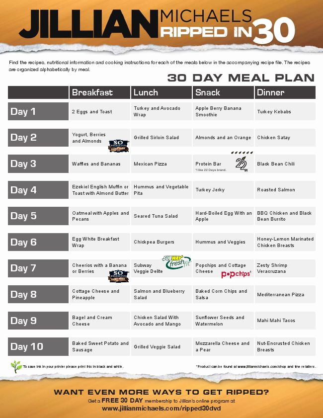 30 Day Diet Meal Plan Lovely 25 Best Ideas About 30 Day Diet On Pinterest