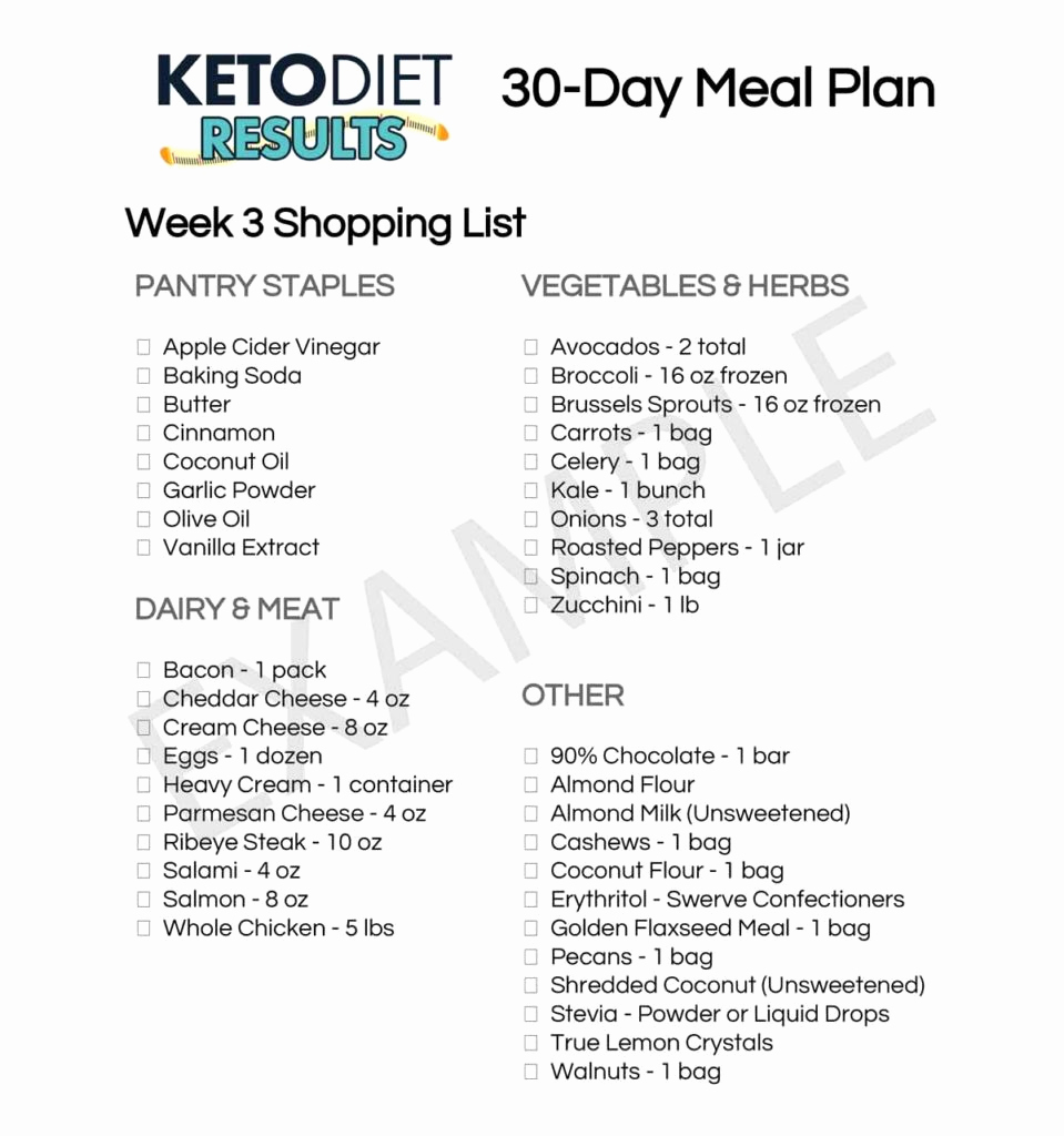 30 Day Diet Meal Plan Unique Lose Weight with This 30 Day Keto Meal Plan Keto Diet