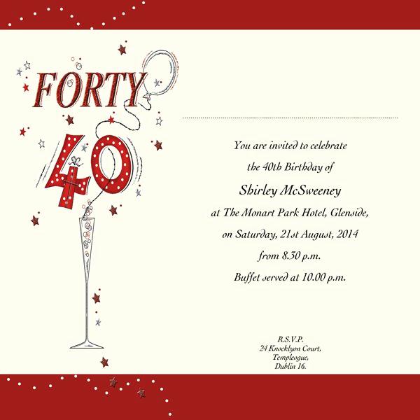 40th Birthday Invitation Wording Beautiful 40th Birthday Invitation Wording New Invitations