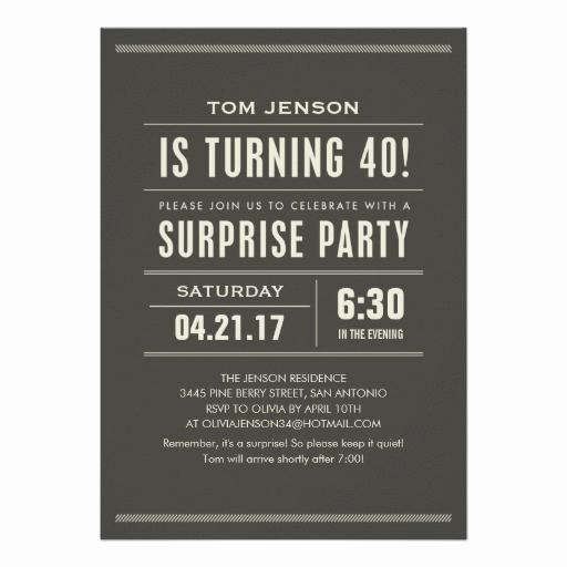 40th Birthday Invitation Wording Best Of 40th Birthday Invitations 8500 40th Birthday
