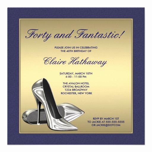 40th birthday invitations wording