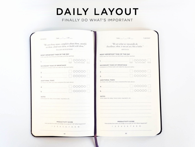 5 Minute Journal Pdf Lovely Productivity Planner Get More Done and Beat