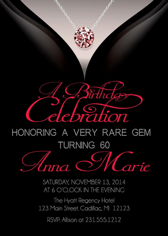 60 Th Birthday Invites Fresh 60th Birthday Invitations Adult Birthday Invitation