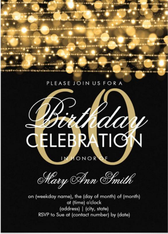 60 Th Birthday Invites Unique Cool 60th Birthday Invitations the Cards Were so