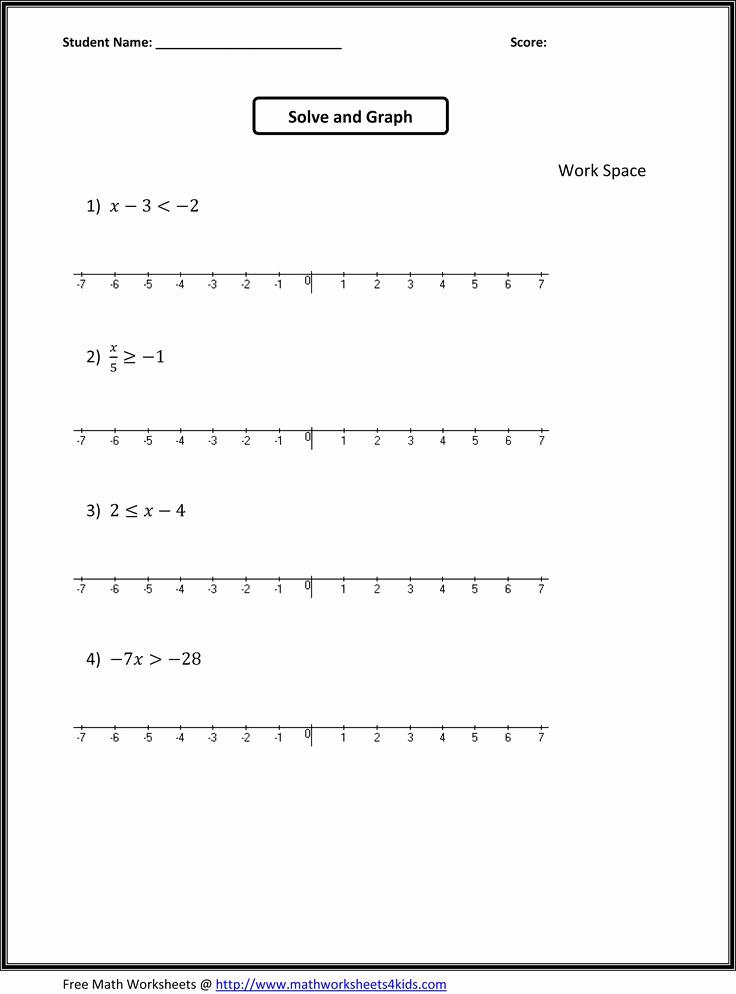 7th Grade Algebra Worksheets Fresh 7th Grade Algebra Worksheets