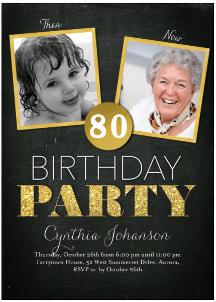 80th Birthday Party Invitations Best Of 80th Birthday Invitations 30 Best Invites for An 80th
