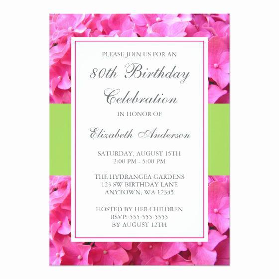 80th Birthday Party Invitations Elegant 15 Sample 80th Birthday Invitations Templates Ideas