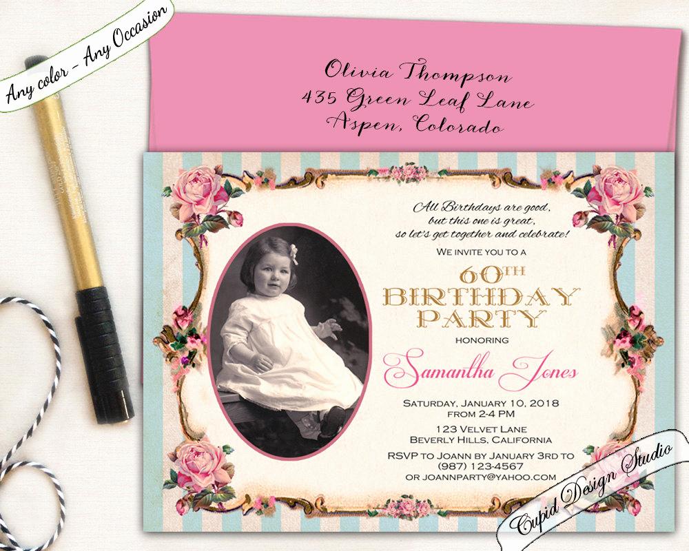 80th Birthday Party Invitations New Elegant 80th Birthday Invitation Pink and Gold Birthday