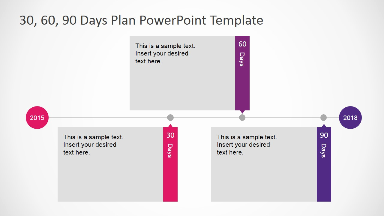 90 Day Plan Template Best Of 30 60 90 Days Plan Powerpoint Template Slidemodel