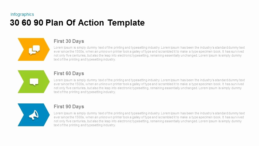90 Day Plan Template Luxury 30 60 90 Day Plan Powerpoint Templates for Everyone