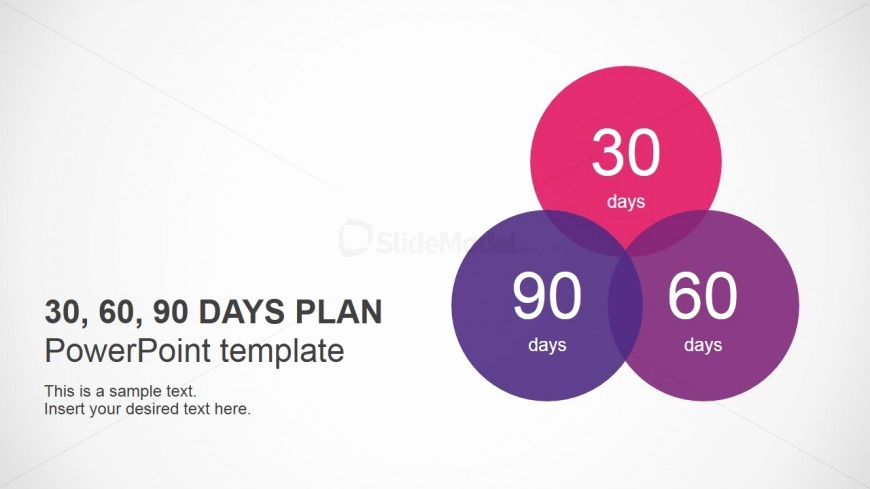 90 Day Review Template Awesome Powerpoint Template for 30 60 90 Days Plan Slidemodel