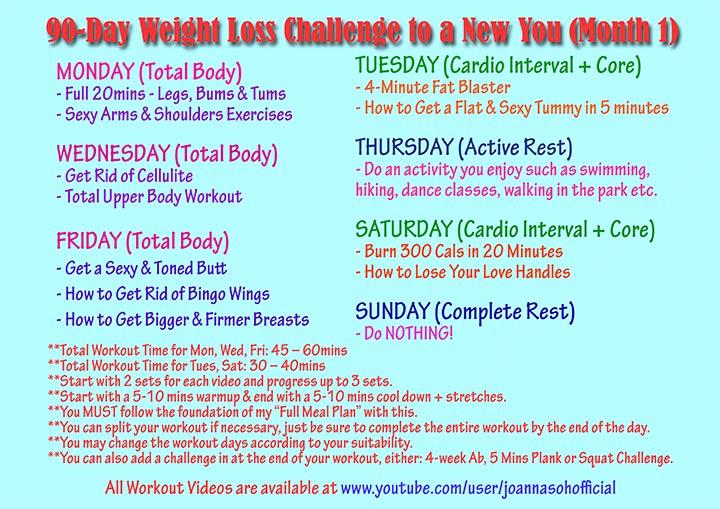90 Day Workout Plan Beautiful 90 Day Weight Loss Plan