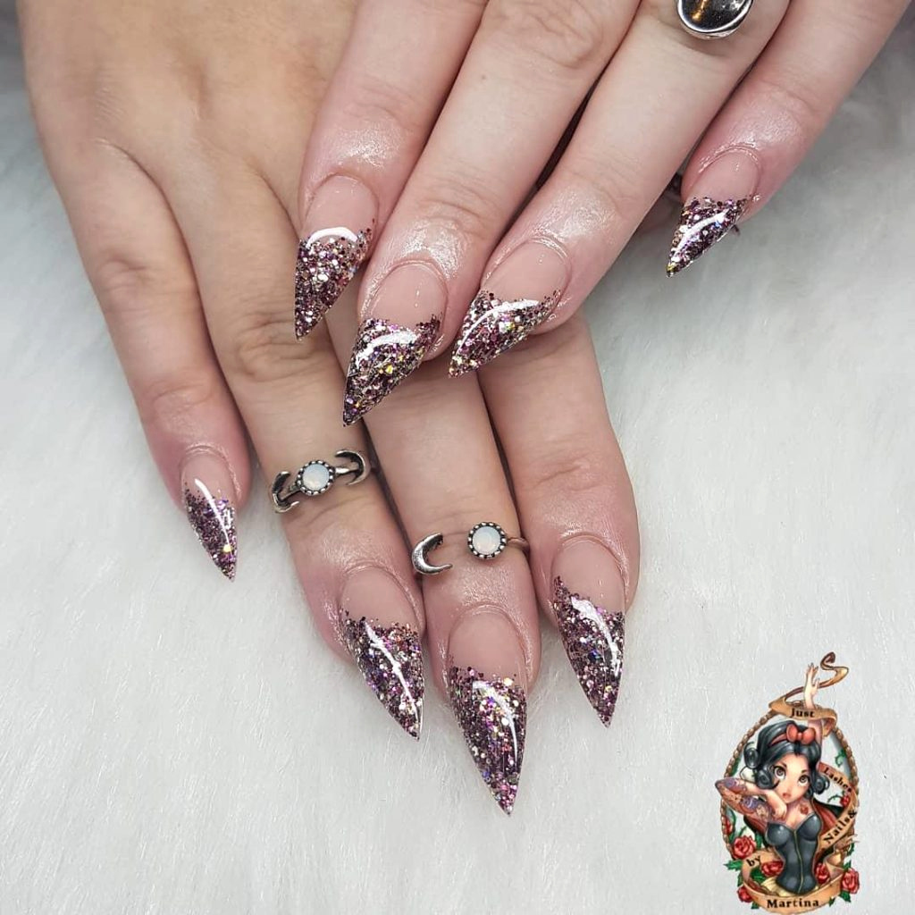 acrylic nail designs 2019