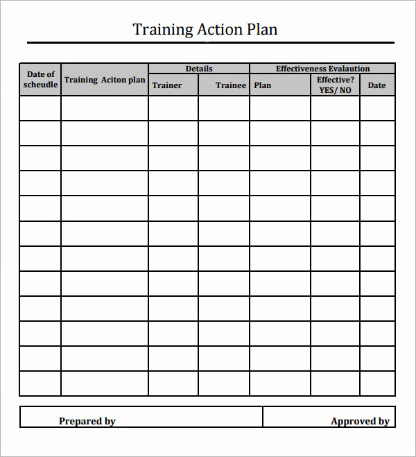 Action Plan Templates Excel Fresh Sample Action Plan Template 15 Free Documents In Pdf