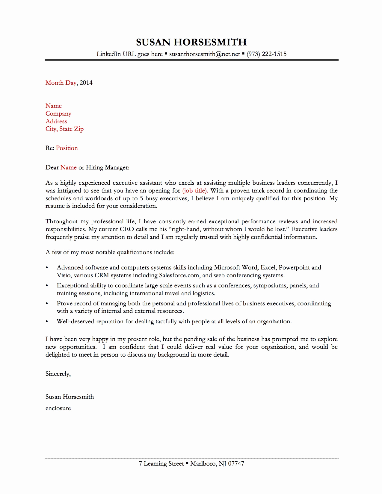 Administrative assistant Cover Letter Examples Elegant Sample Cover Letters for Administrative assistant