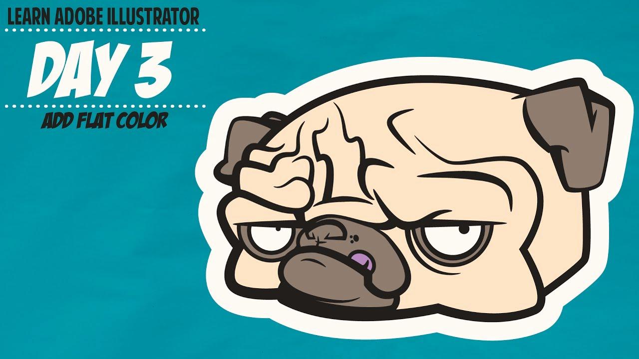 Adobe Illustrator Tutorials for Beginners Awesome Adobe Illustrator Cc Tutorial for Beginners Adding Color