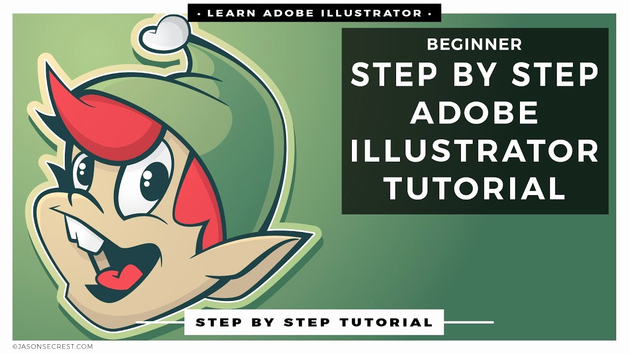 Adobe Illustrator Tutorials for Beginners Beautiful Step by Step Adobe Illustrator Tutorials for Beginners