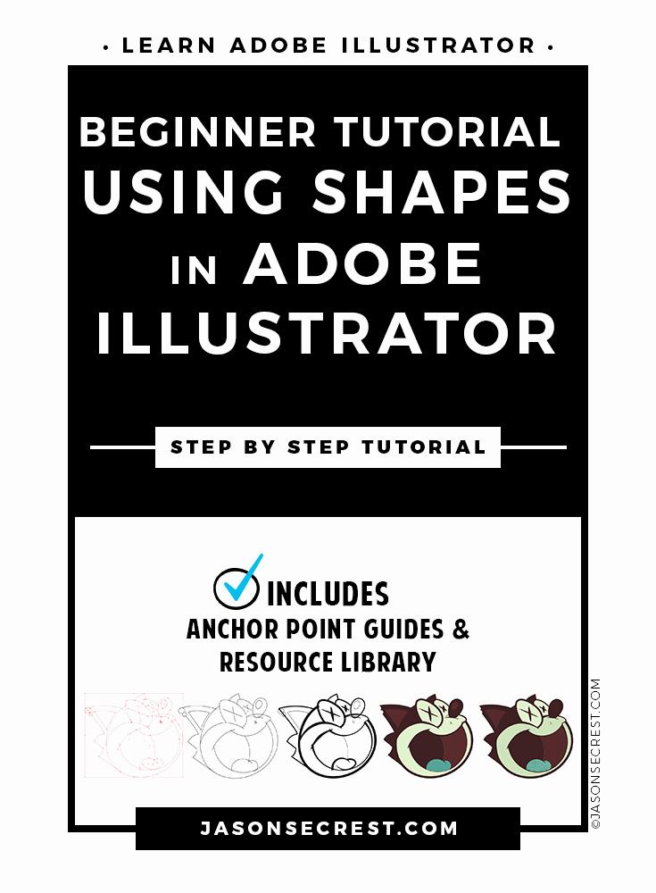 Adobe Illustrator Tutorials for Beginners Lovely Beginner Adobe Illustrator Tutorial Using Shapes Jason