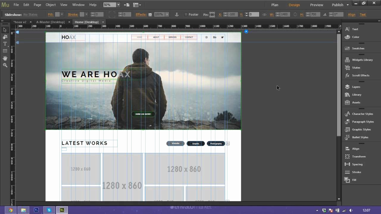 Adobe Muse Templates Free Awesome How to Use and Customize Adobe Muse Template Hoax
