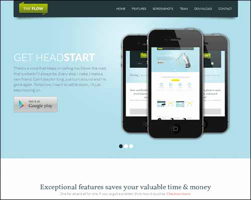 Adobe Muse Templates Free Awesome Responsive Adobe Muse Templates & themes