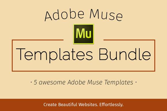 Adobe Muse Templates Free Lovely Adobe Muse Templates Bundle Scriptmafia org
