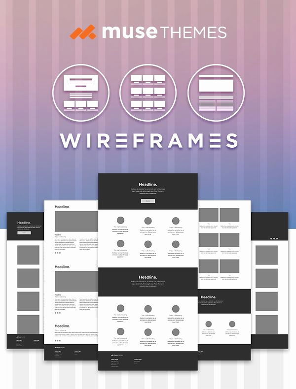 Adobe Muse Templates Free Luxury 90 Best Images About Adobe Muse Templates On Pinterest