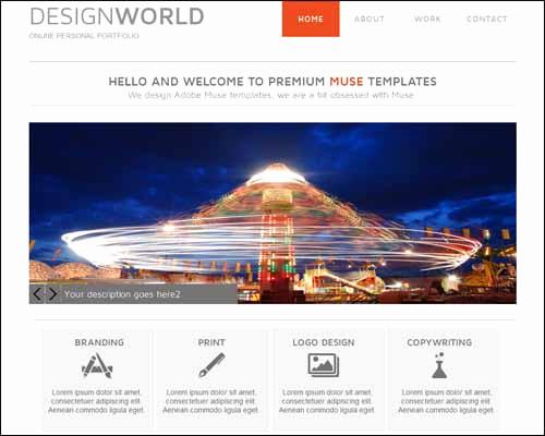 Adobe Muse Templates Free Unique Latest Premium and Free Adobe Muse Templates thedesignblitz