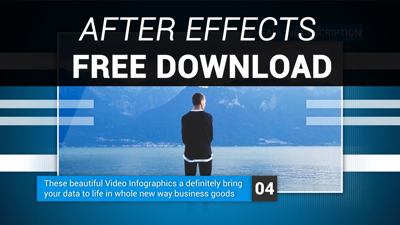 After Effects Free Templates Luxury after Effects Corporate Video Template Free Download