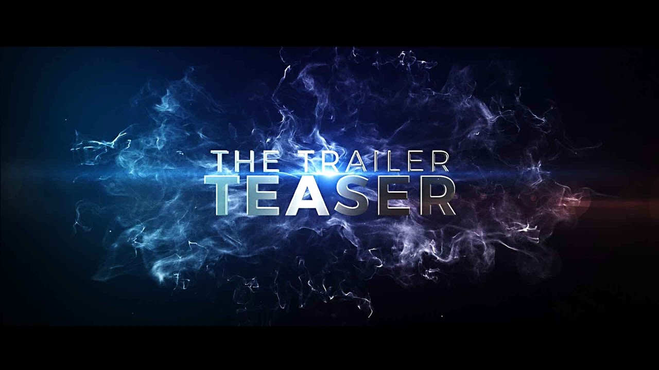 After Effects Free Templates Unique after Effects Template the Cinematic Trailer Teaser