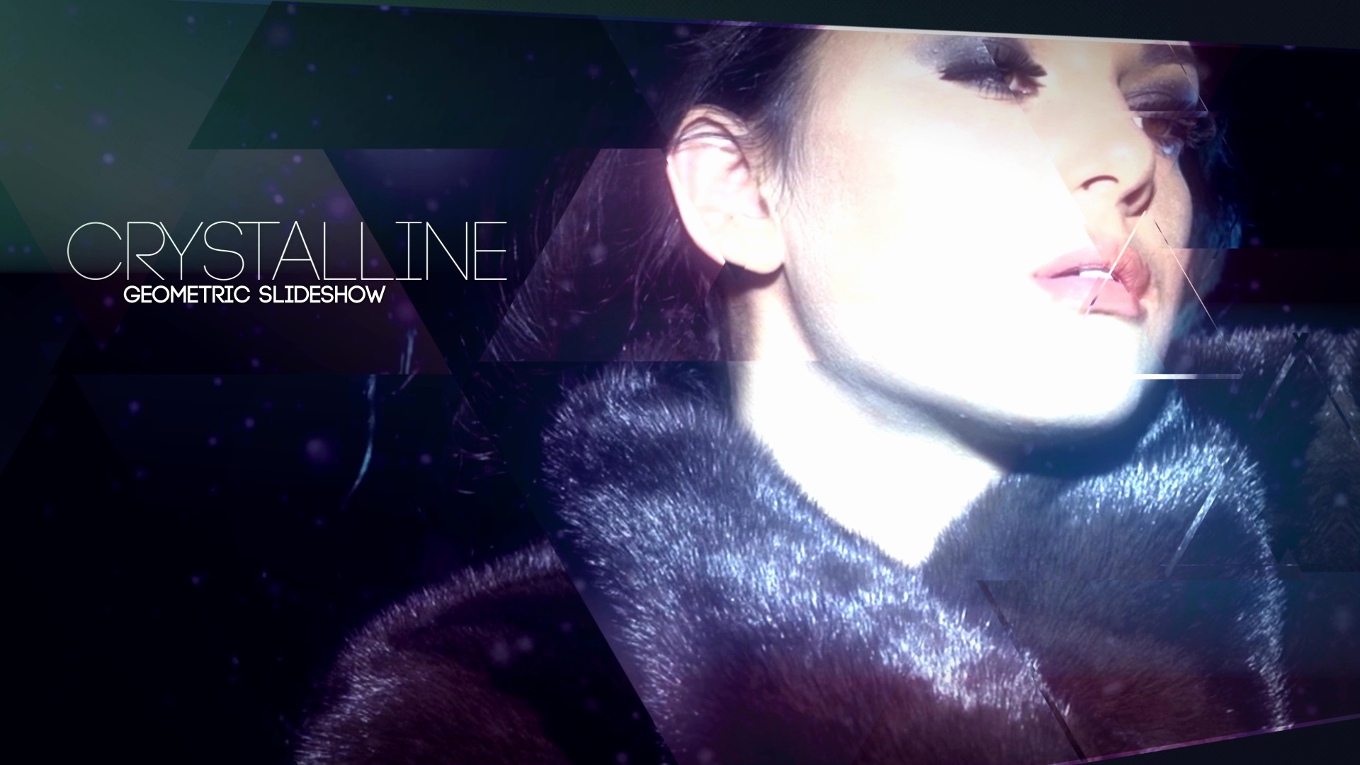 After Effects Slideshow Template Awesome Crystalline Geometric Slideshow after Effects Template