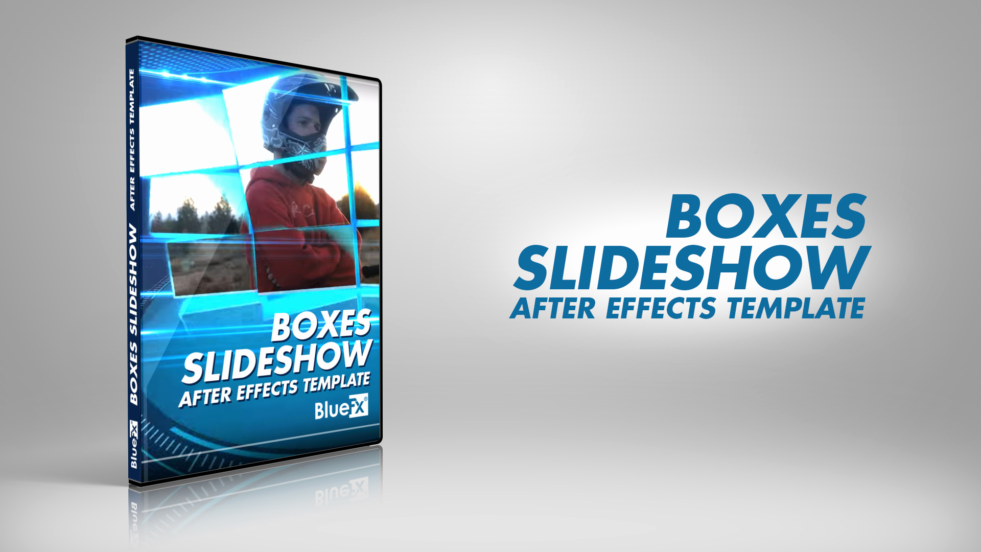 After Effects Slideshow Template Beautiful Boxes Slide after Effects Template