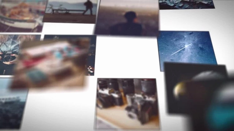After Effects Slideshow Template Fresh Mosaic Picture Slideshow after Effects Templates