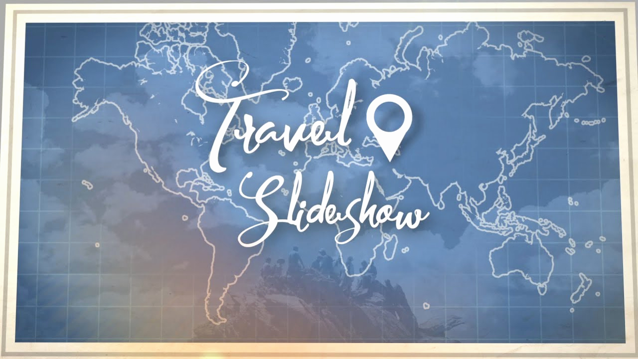 After Effects Slideshow Template Luxury Travel Slideshow after Effects Template