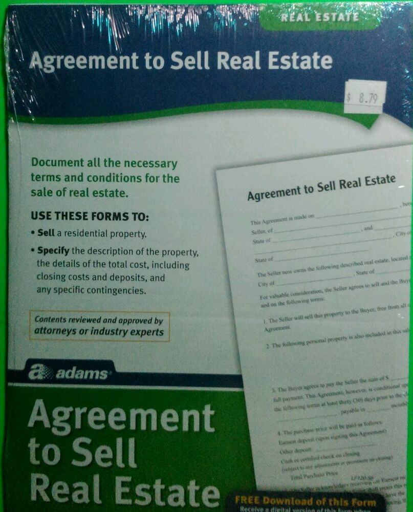 Agreement to Sell Real Estate Unique Real Estate Agreement to Sell Real Estate