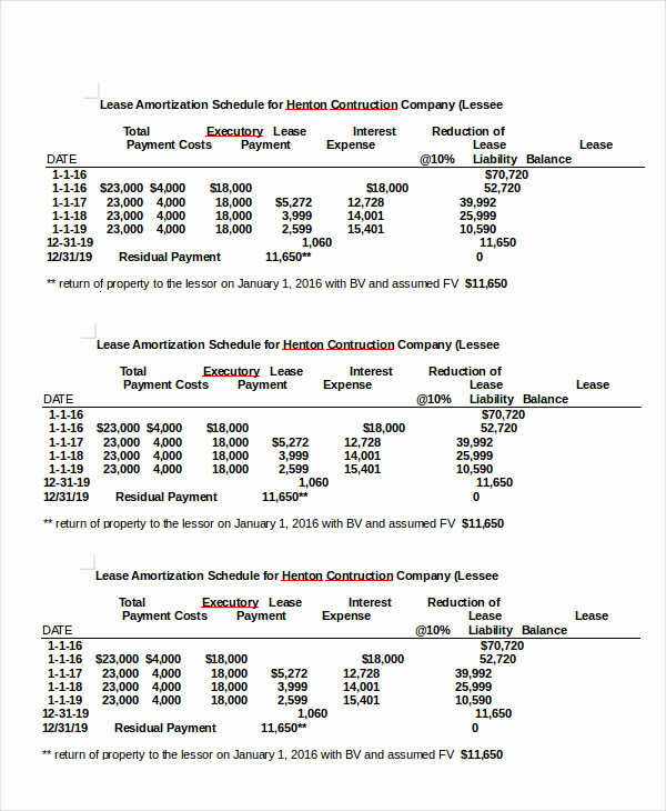 Amortization Schedule Excel Template Elegant Amortization Schedule Template 5 Free Word Excel