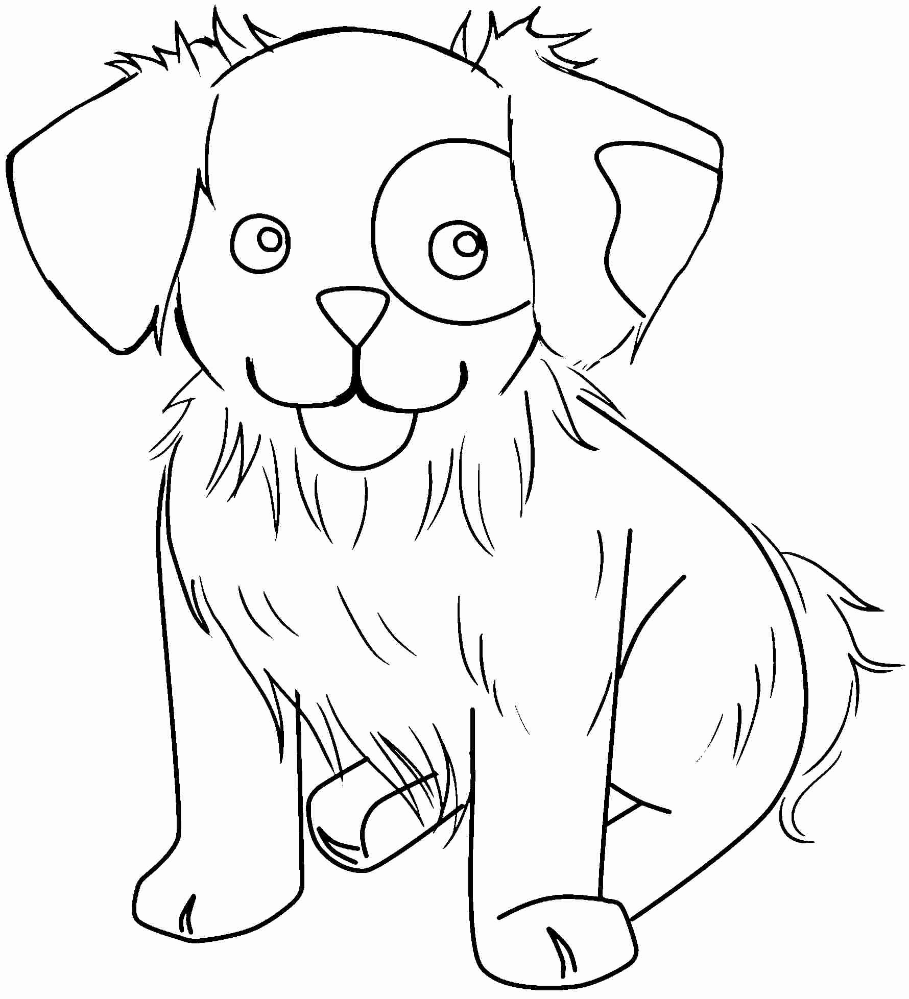 Animal Pictures to Color Beautiful Free Printable Cute Animal Coloring Pages Coloring Home