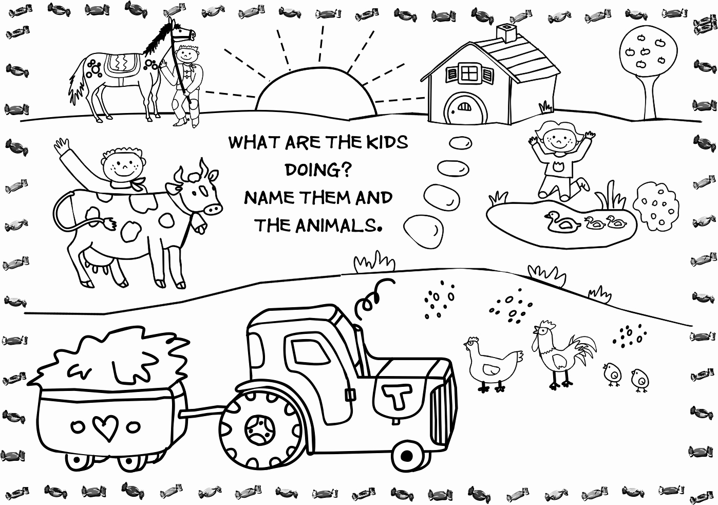 Animal Pictures to Color Fresh Free Printable Farm Animal Coloring Pages for Kids