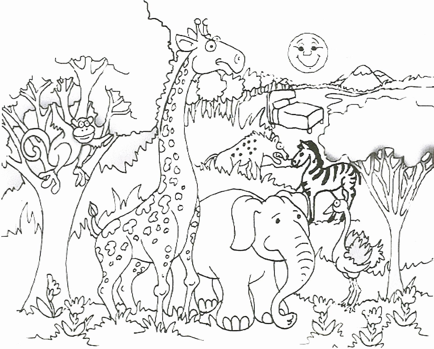 Animal Pictures to Color Lovely Free Printable Giraffe Coloring Pages for Kids
