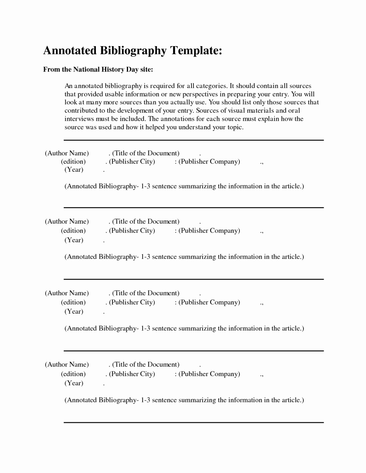 Annotated Bibliography Template Apa Best Of Apa format Annotated Bibliography Example Template