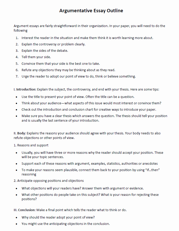 Argumentative Essay Sample Pdf Inspirational Argumentative Essay Examples – Guide to Your Success