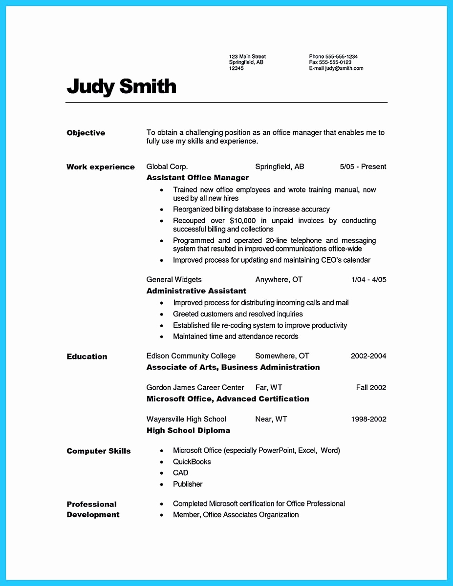 Assistant Property Manager Job Description Fresh Writing A Great assistant Property Manager Resume