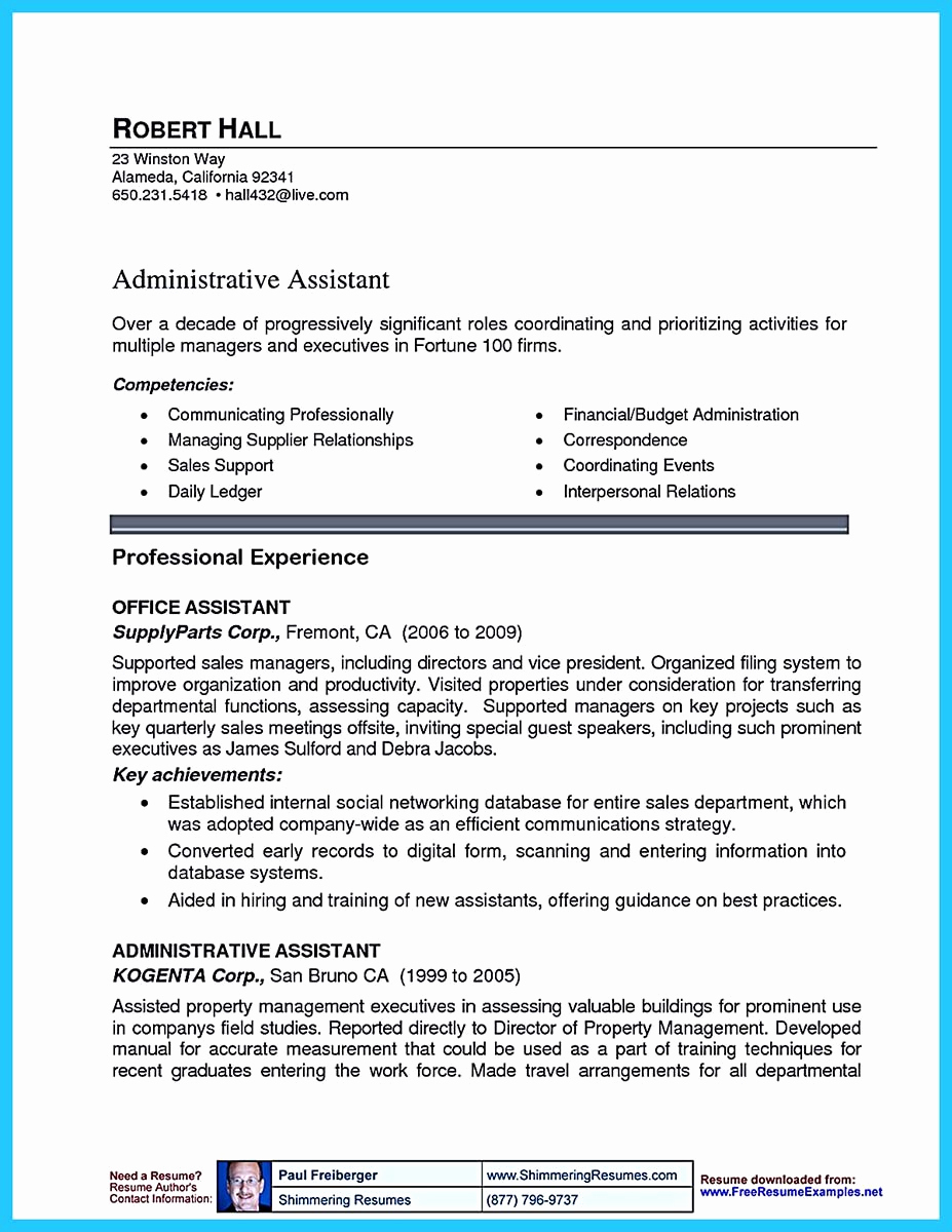 Assistant Property Manager Job Description New Writing A Great assistant Property Manager Resume
