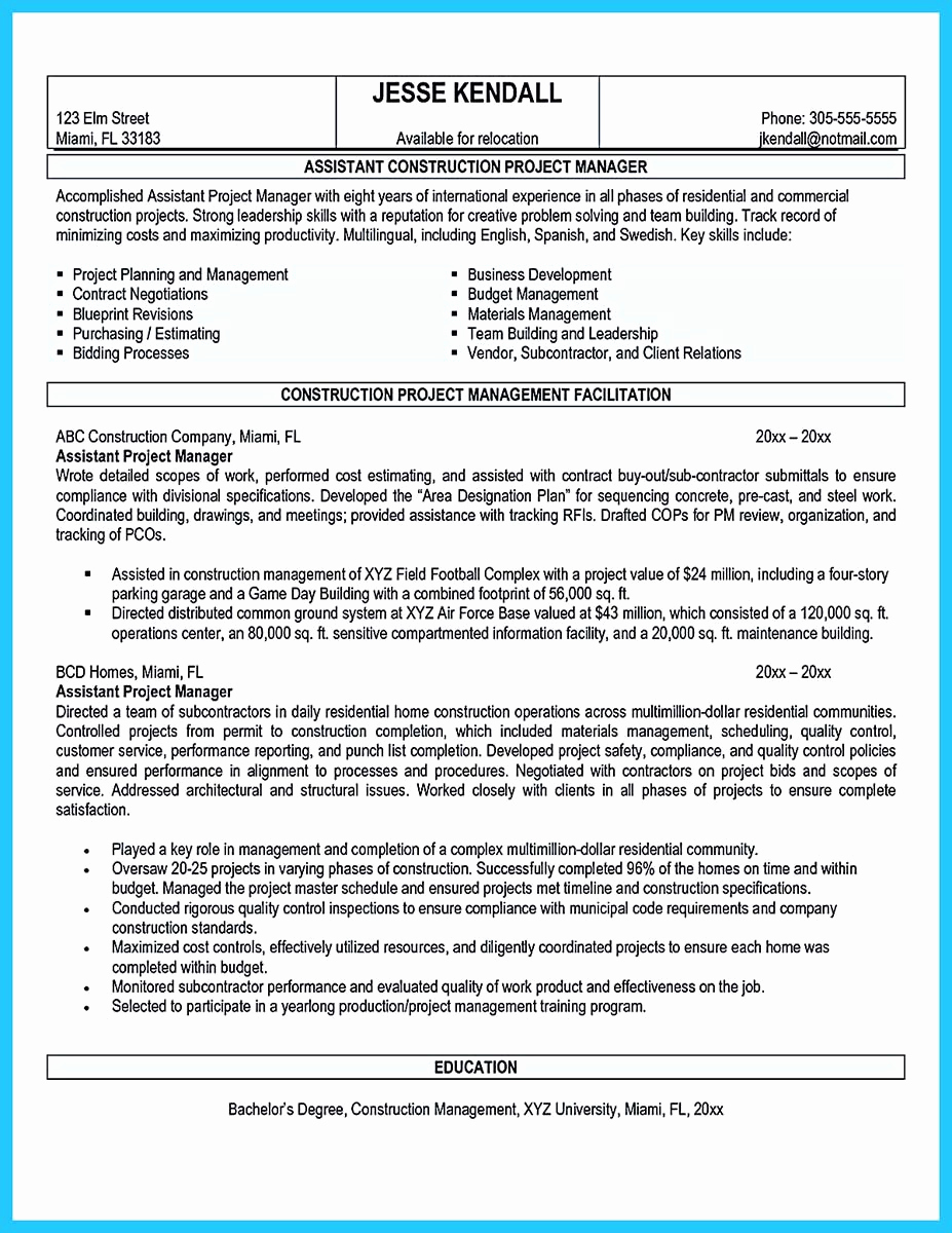 Assistant Property Manager Resume Awesome Writing A Great assistant Property Manager Resume