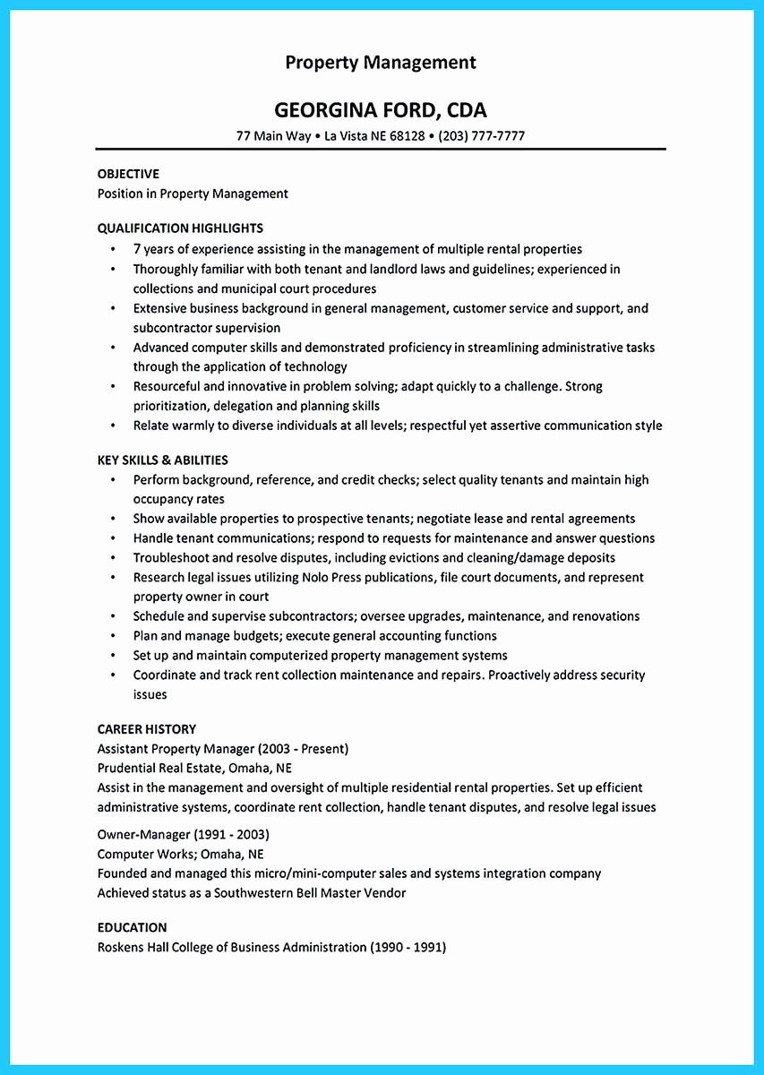 Assistant Property Manager Resume Fresh Writing A Great assistant Property Manager Resume