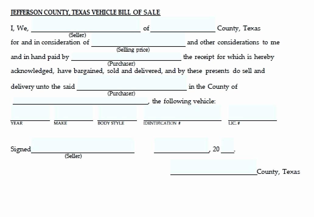 Auto Bill Of Sale Texas Elegant Texas Motor Vehicle Transfer Notification form
