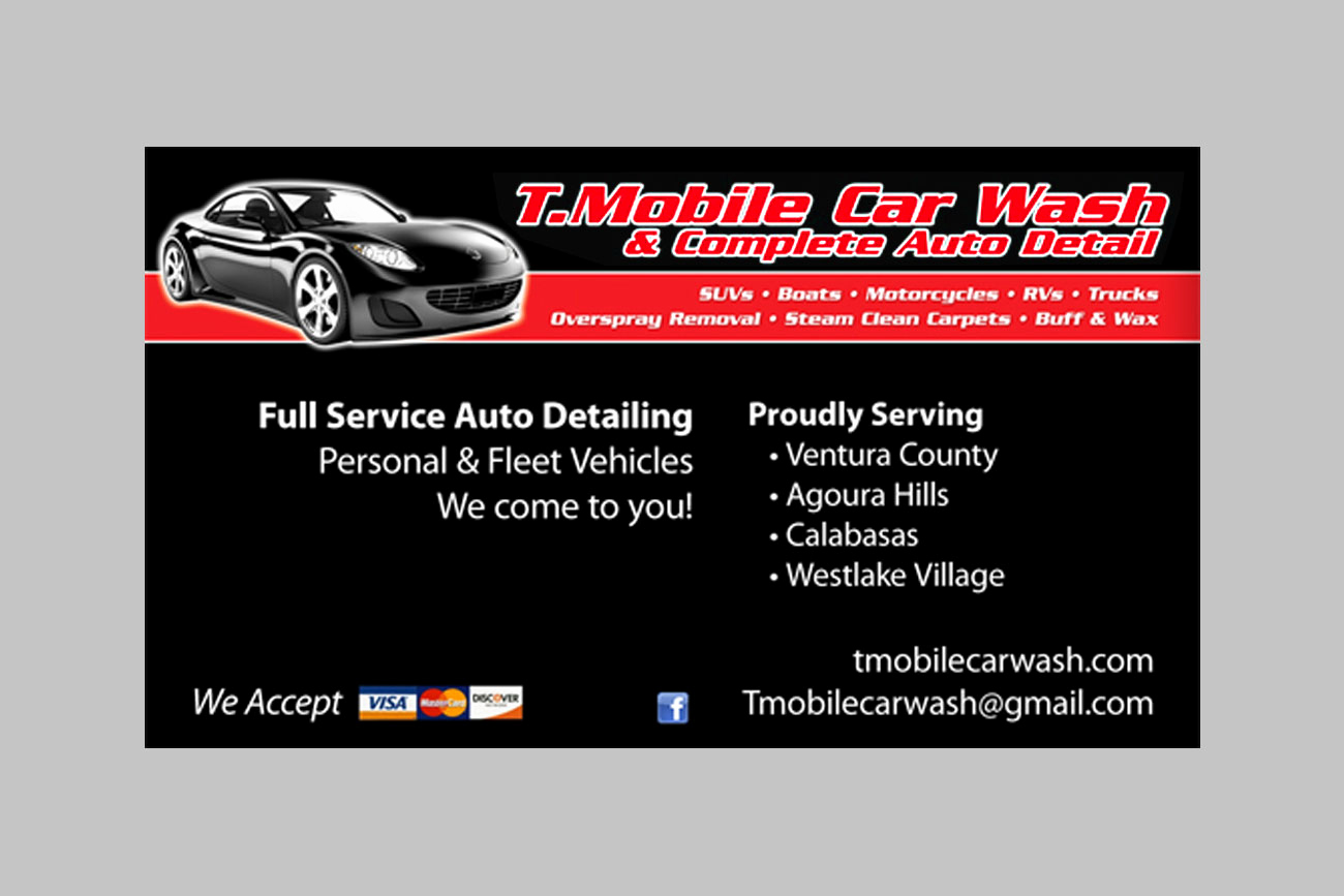Auto Detailing Business Cards Beautiful T Mobile Car Wash Business Cards – Pardini Creative