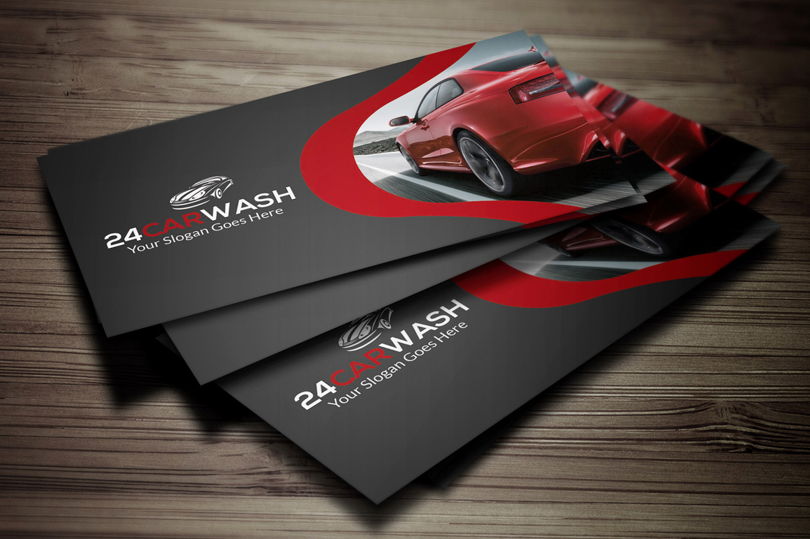 Auto Detailing Business Cards Best Of Car Wash Business Card Business Card Templates On