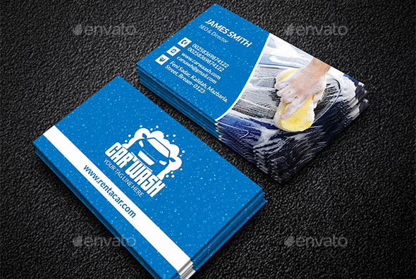 Auto Detailing Business Cards Fresh 21 Cool Carservice Business Card Design Templates – Design
